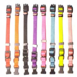 Collar nylon  1.5x18-35cm...
