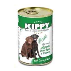 Kippy Dog paté cordero-arroz