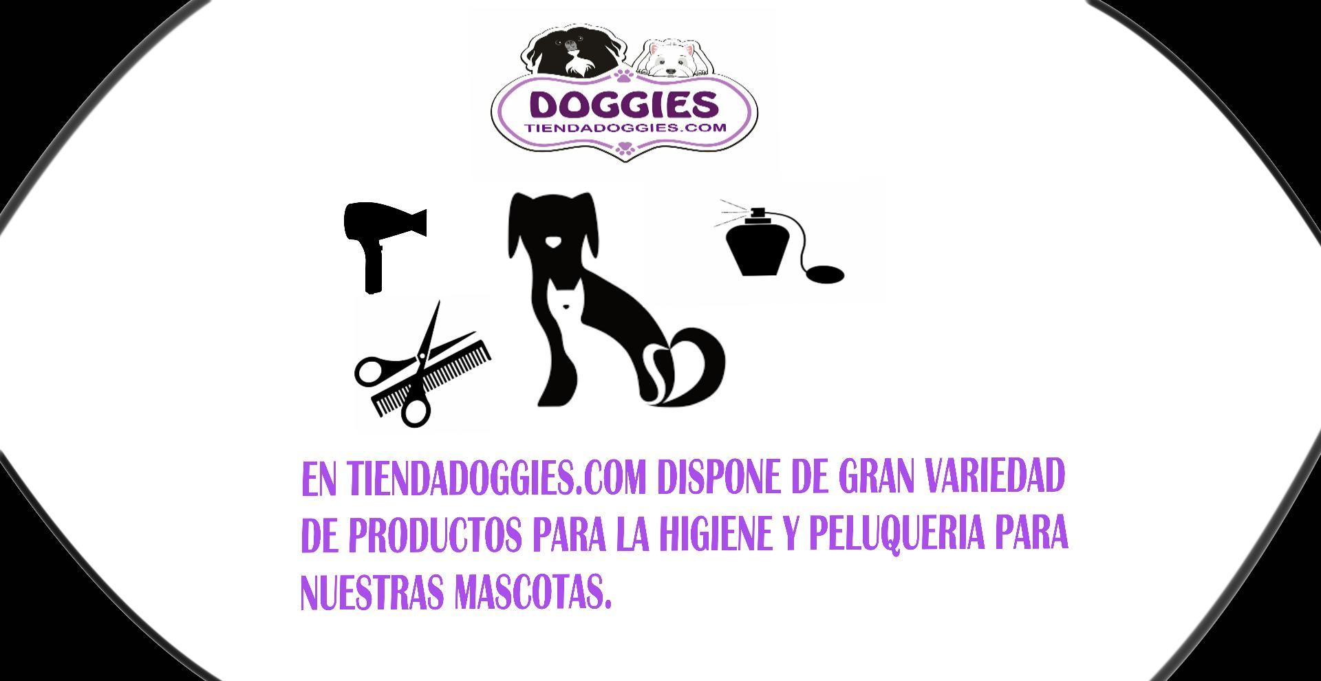 Higiene y peluqueria canina en tiendadoggies.com